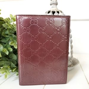 GUCCI GG Leather Notebook Cover